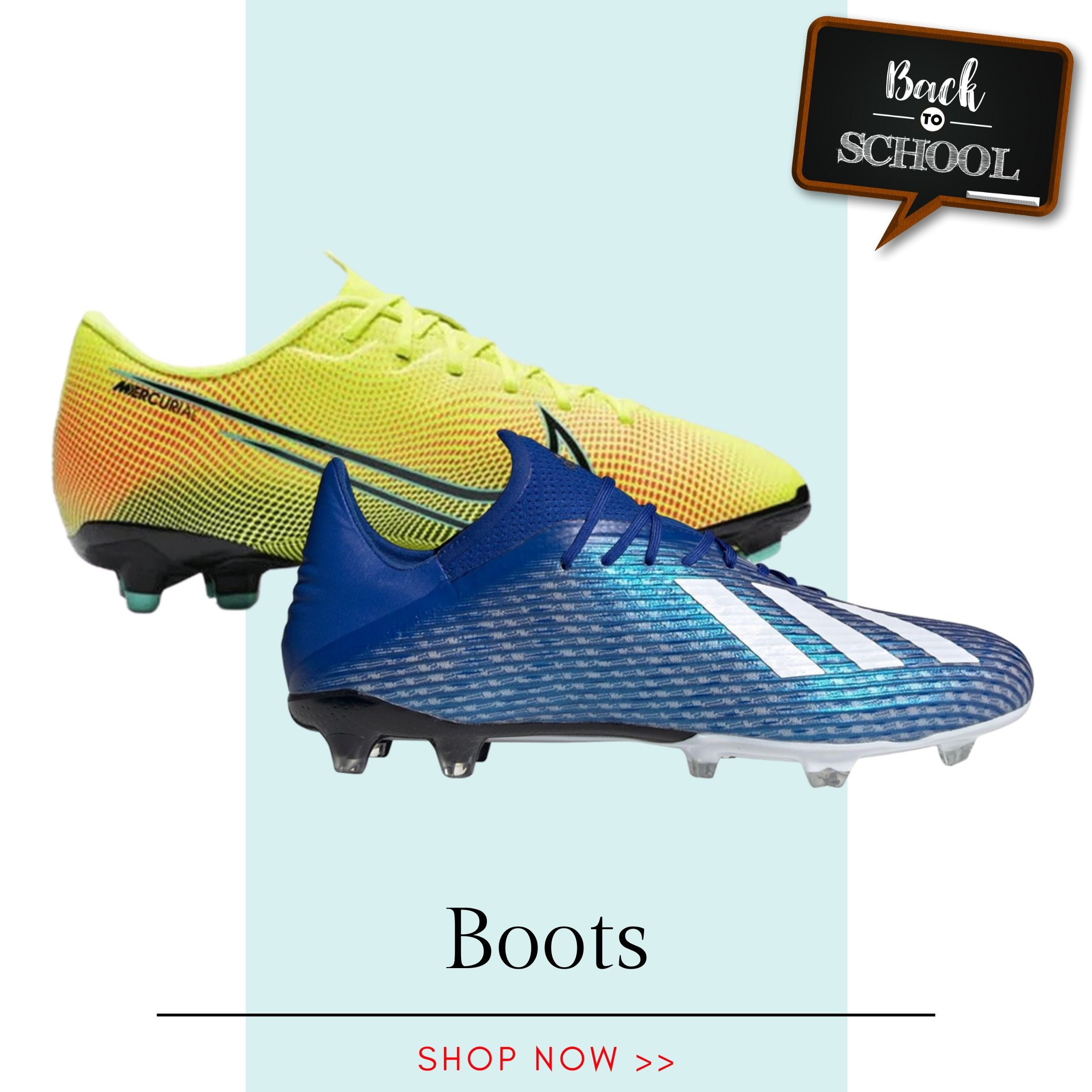Back to School - Football Boots