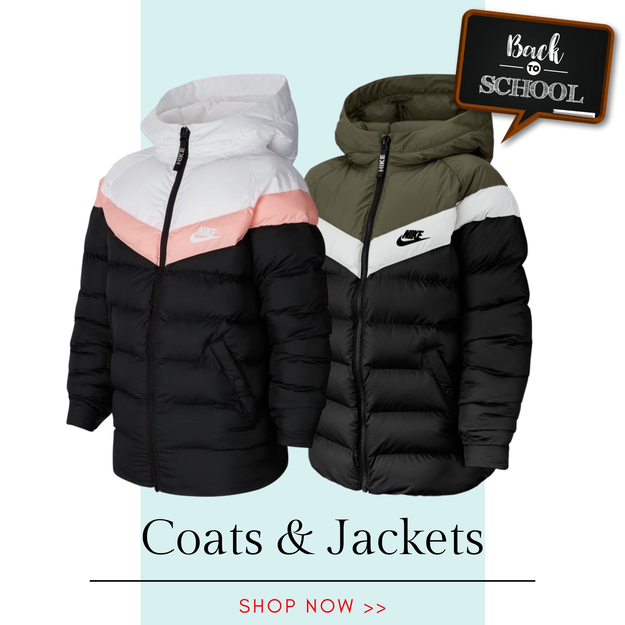 Back to School - Coats & Jackets