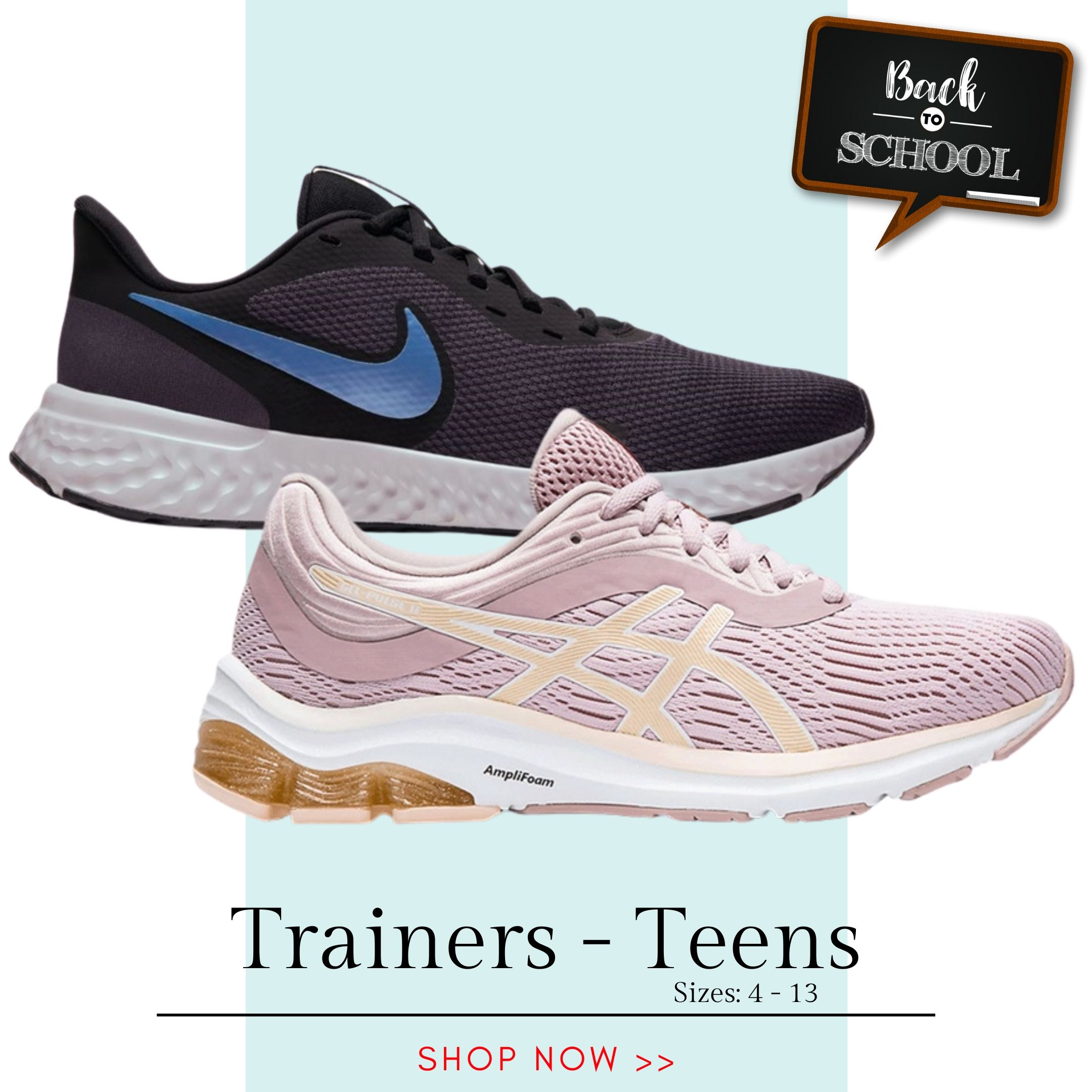 Back to School - Trainers Teens