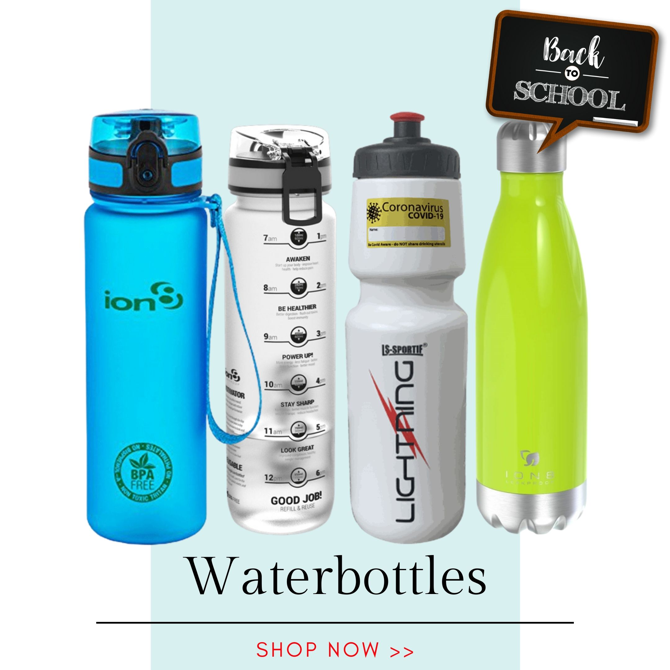 Back to School - Waterbottle