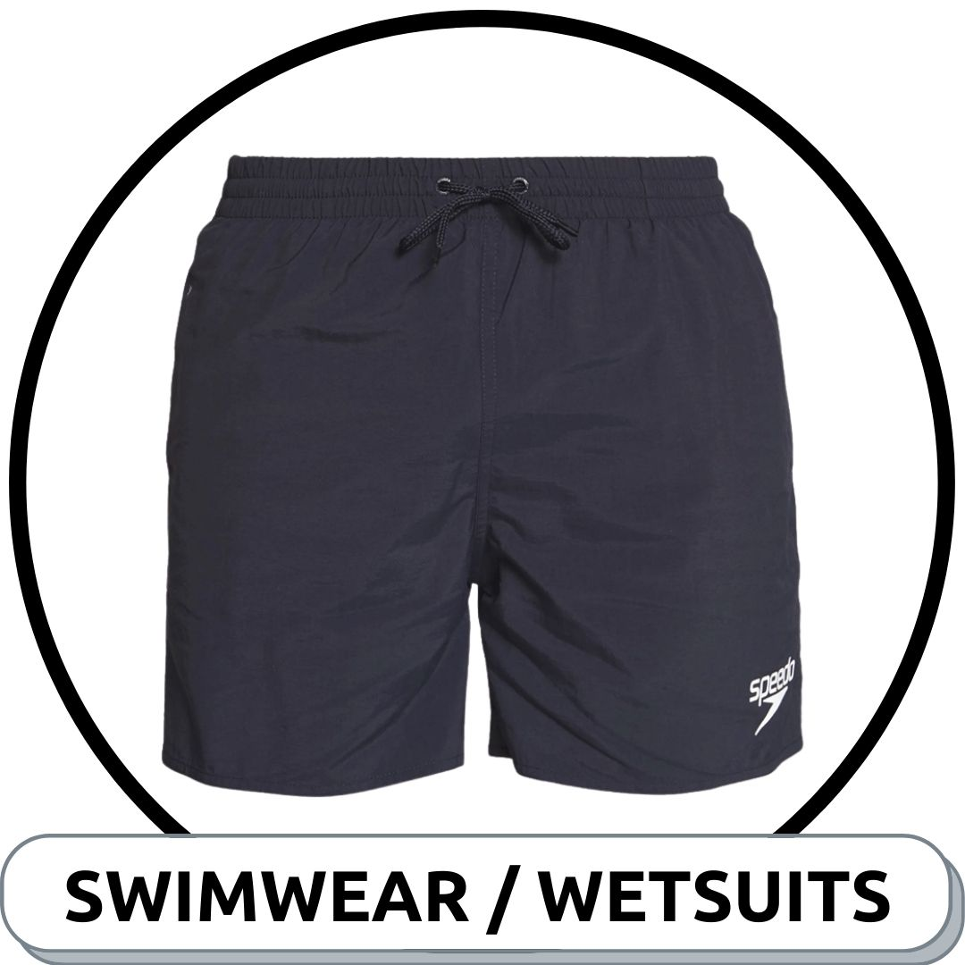 Browse Mens Swimwear & Wetsuits