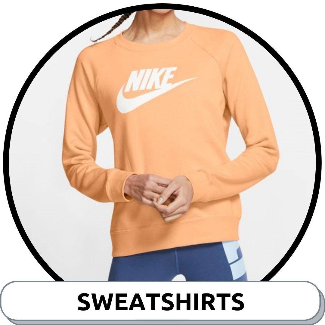 Browse Womens Sweatshirts