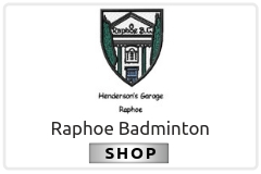 Raphoe Badminton Club Shop