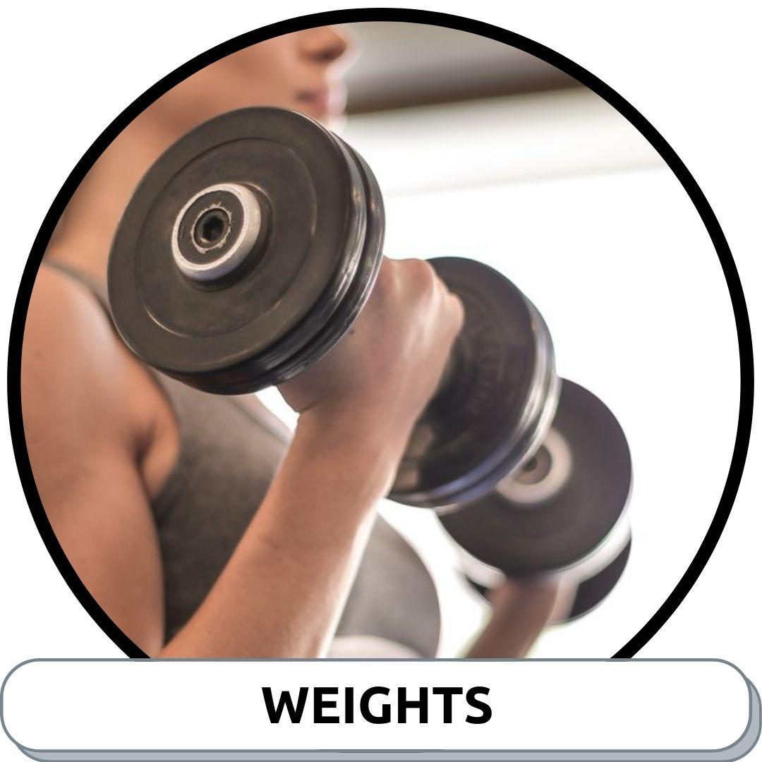 Weights, Dumbbells & Kettlebells