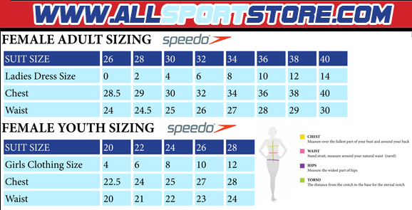 Speedo Womens Fit Lnbk Swimsuit Blackorange Allsportstore