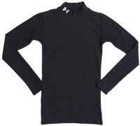 Under Armour Boys LS Mock Top CG