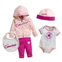 Converse Baby Girls Boxed Set