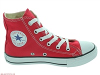 Converse Youth All Star Hi Top - Red