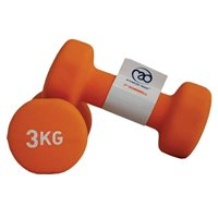 Fitness Mad 3kg Dumbell