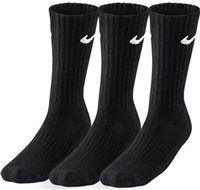 Nike 3 Pack Sock - Black or White
