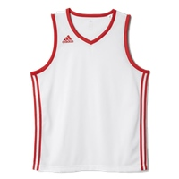 Adidas Commander Jersey - White/Red