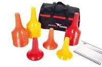 Precision Training Marker Cone Drill Set.