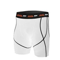 ATAK Sports Compression Shorts - White