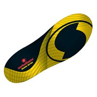 Sorbothane Double Strike Insoles - Yellow/Black