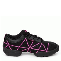 Capezio Irish Dancing Web Trainer - Black/Pink