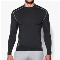 Under Armour Mens Cold Gear Amour Crew Top -  Black