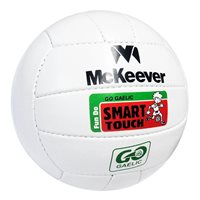 McKeever Smart Touch Football - White