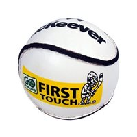 McKeever First Touch Sliotar - White