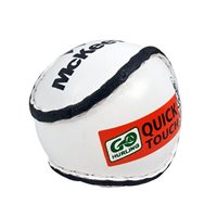 McKeever Quick Touch Sliotar - White