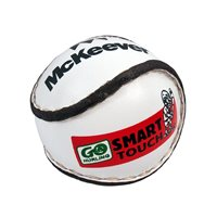 McKeever Smart Touch Sliotar - White