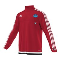 Adidas CNS Coaching Tiro 15 Training Top - Red/White