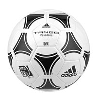 Adidas Tango Pasadena Soccer Ball - FIFA Approved - White/Black
