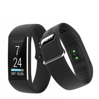 Polar A360 Fitness Tracker with Heart Rate Sens - Black