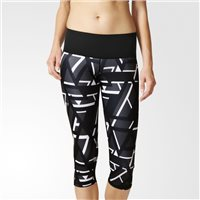 Adidas Ultimate Fit High Rise 3/4 Tights - Black