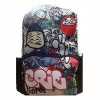 Ridge 53 Grafitti Backpack II - Multi