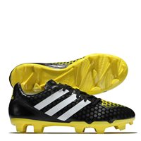 Adidas Incurza FG Football Boots - Black/Yellow