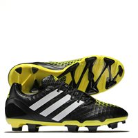 Adidas Predator Incurza FG Football Boots - Black/Yellow