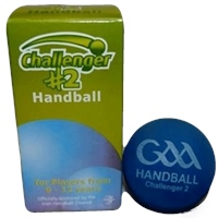 Challenger Number 2 Handball (Box of 2) - Blue
