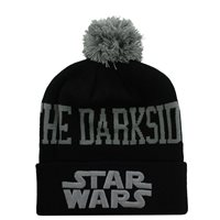 Disney Star Wars The Dark Side Bobble Hat - Black/Grey