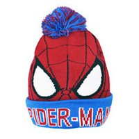 Marvel Spiderman Bobble Hat - Red/Blue