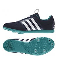Adidas Allroundstar Junior Running Spike - Navy
