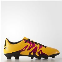 Adidas X 15.4 FxG Football Boots - Orange/Pink