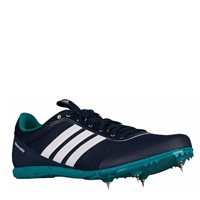 Adidas Mens Distancestar Running Spikes - Navy