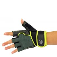 Fitness Mad Core Fitness & Weight Training Glove - Black/Yellow