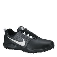 Nike Explorer Leather Golf Shoes -  Black