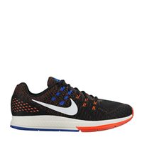 Nike Mens Air Zoom Structure 19 -  Black/Orange