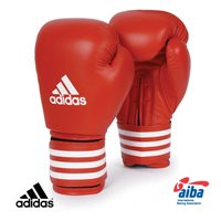 Adidas Boxing AIBA Boxing Gloves - Red