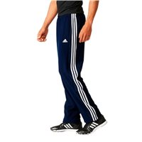 Adidas Mens Essential 3 Stripe Woven Track Pants - Navy