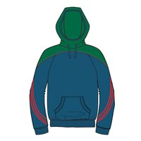 ONeills Parnell Hoody - Navy/Bottle/Red