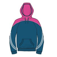 ONeills Parnell Hoody - Navy/Pink/White