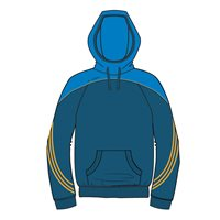 ONeills Parnell Hoody - Navy/Royal/Amber