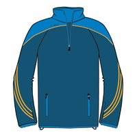 ONeills Parnell Half Zip Training Top - Navy/Royal/Amber