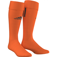 Adidas Santos 3 Stripe Sock   - Orange/Black