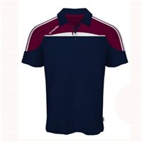 ONeills Marley Polo - Navy/Maroon/White