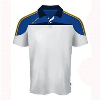 ONeills Marley Polo - White/Royal/Amber