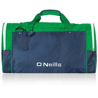 ONeills 22inch Burren Bag - Navy/Emerald/White